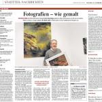 Rheinische Post 24. FEBRUAR 2012 Fotografien – wie gemalt